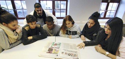FORDØMMER ANGREPET: Nadia Zomlot, Ibrahim OuitOuit, Chaudaryy Khyam Younas, Ibrahim Mohammed, Gulan Jamal Mohammed, Rania Moucharef og Anika Hussain fordømmer de grusomme terrorhandlingene i Frankrike.