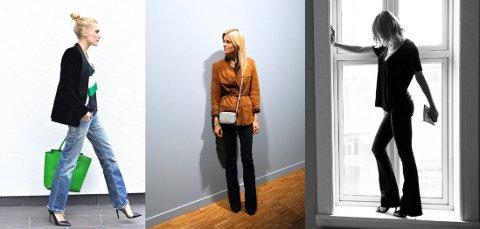FAVORITTER: Her er motebloggerne, alle avbildet i sine egne favoritter. Foto: Kolasje