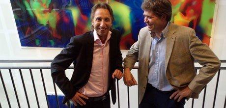 Frode Pettersen (t.v.) og Knut Hauge i Manpower