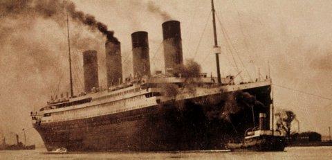 SANK I 1912: Verdens største passasjerskip, Titanic, gikk på et isfjell i Atlanterhavet på sin jomfrutur fra Southhampton til New York i 1912.