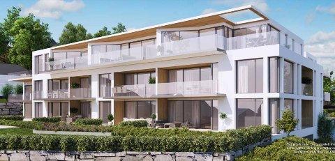 Solrike leiligheter med mulighet for båtplass rett ved innseilingen til Blindleia, heter det i reklamen for boligprosjektet der den kommunale saksbehandleren kjøpte leilighet ved hjelp av rentefritt lån fra utbygger.