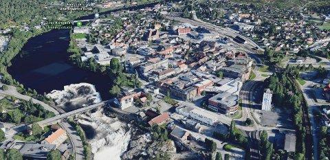 Et enstemmig Kongsberg kommunestyre erklærte onsdag klimakrise. Illustrasjonsfoto: Kongsberg by.