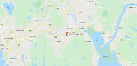 RØMT: En fange har rømt fra Akershus universitetssykehus, melder politiet.