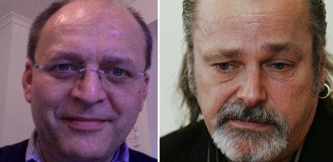 SIKTET I KORRUPSJONSSAK: Politilder Eirik Jensen (til høyre) og Gjermund Cappelen.