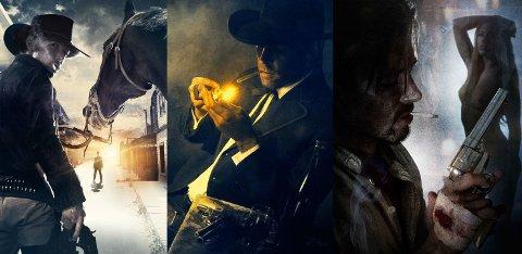 KONKURS: Selskapet som skulle produsere filmen om ikonet Morgan Kane har slått seg selv konkurs. Her stillbilder med Ryan Wiik i hovedrollen.