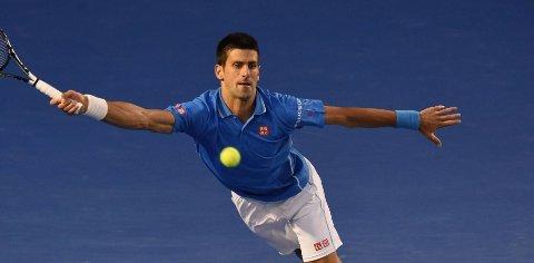 VIDERE: Tennisstjerne Novak Djokovic.