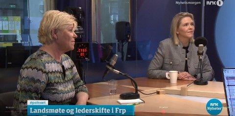 Sylvi Listhaug ble feid av banen av Siv Jensen da hun nølte med å svare.