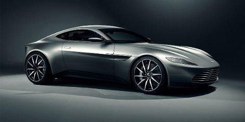 NY AGENTBIL: Her er bilen som skal brukes i den kommende James Bond filmen.