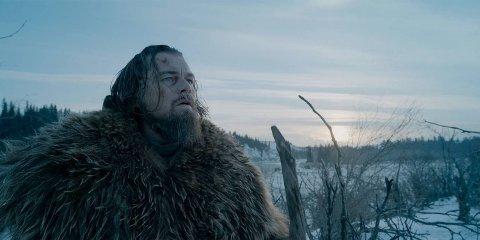 Leonardo DiCaprio som Hugh Glass i filmen The Revenant (2016)