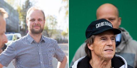 RENE ORD FOR PENGA: Mimir Kristjánsson i Rødt og Jan Bøhler i Oslo Senterparti er på kollisjonskurs.