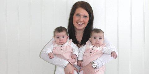 TØFT Å VÆRE MOR: Lise Hansen (20) synes det er tøft å være mamma til to stykker. FOTO: Lise Hansen