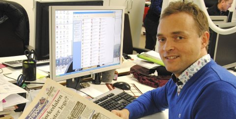 MIMRER: I 1993 ble jeg første gang en del av redaksjonen i Ullern Avis Akersposten. Nesten 22 år senere blar jeg meg tilbake i tid og konstaterer at lokalsamfunnet har hatt mye nytte av sine lokalaviser Akersposten og Ullern Avis. Foto: Arild Jacobsen