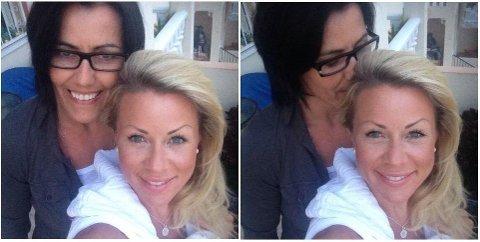 LYKKELIGE: Marte Schei forteller at Lene Alexandra er i et lykkelig forhold. Foto: Privat