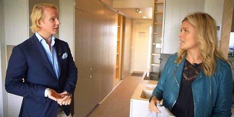 KJØPTE LUKSUSLEILIGHET: Petter Pilgaard og Vendela Kirsebom har kjøpt en leilighet på Frogner til 25 millioner kroner.