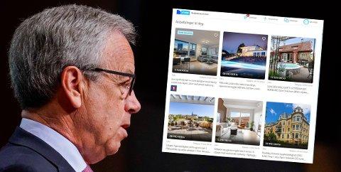 Sentralbanksjef Øystein Olsen følger aktiviteten i boligmarkedet med argusøyne etter krisen som har oppstått.