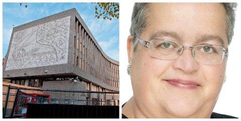 VAR PÅ JOBB: Nille Lauvås var på jobb i 2. etasje i regjeringskvartalet da terrorangrepet rammet 22. juli for ni år siden. Erfaringene med posttraumatisk stresslidelse etter hendelsen ledet til at hun skrev bok om traumebehandling.