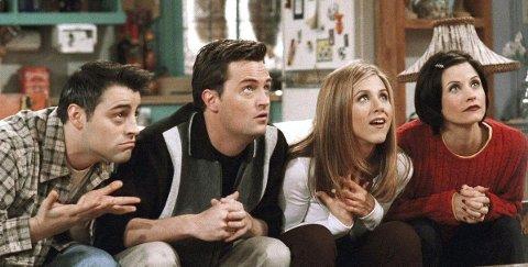 SLIK VI KJENNER DEM:«Friends» kommer tilbake på skjermen for en reunion-episode.