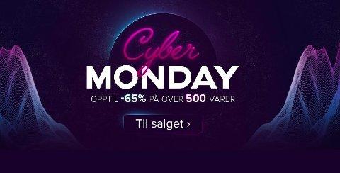 Gjør et kupp på de råeste sport- og friluftsvarene under Fjellsports Cyber Monday-salg-.