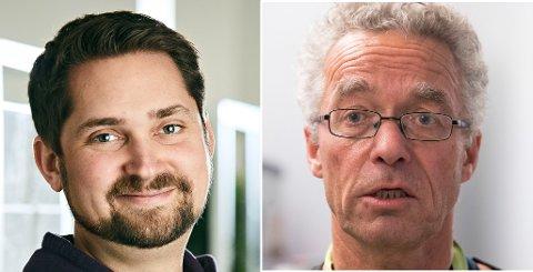 Karl Munthe-Kaas i Kolonial.no mener Rasmus Hansson og Handelens Miljøfond ikke gjør nok for å redusere forbruket av plastbæreposer. Hansson minner om at fondet kun har eksistert i et år, og mener en kampanje i januar vil sende forbruket nedover.