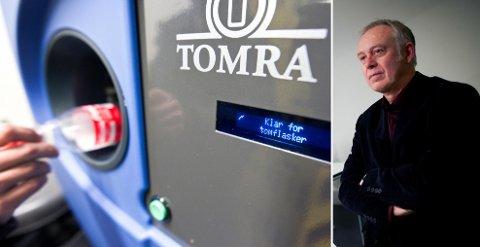 INGEN VARM VELKOMST: Direktør Petter Nome i Bryggeri- og drikkevareforeningen avfeier et Skandinavisk pantesamarbeid. Bildet av Nome er tatt i en annen anledning.