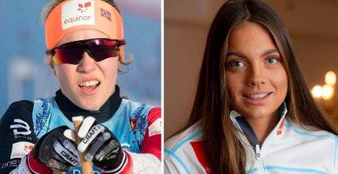 HAR FÅTT VEKSTBEHANDLING: Helene Marie Fossesholm og Kristine Stavås Skistad har mottatt vekstbehandling, melder Skiforbundet i en pressemelding