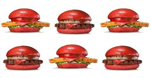 ANGRY SAMURAI heter den nye hamburgeren som nå skal selges i Japan.