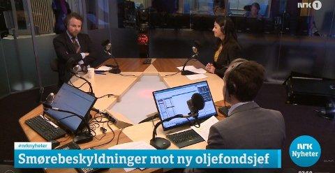 Tidligere næringsminister Torbjørn Røe Isaksen (H) fikk huden full i Politisk Kvarter mandag morgen.
