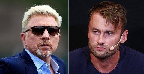KOMMER MED RÅD: Den tyske tennislegenden Boris Becker kom med noen velmenende råd da han fikk høre om situasjonen Petter Northug hadde havnet i.