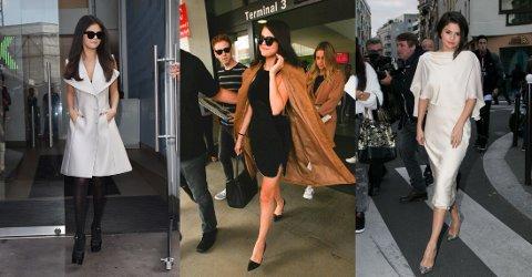 STILENDRING: I løpet av det siste året har Selena gått fra å være en tenåringsstjerne, til å bli et sofistikert moteikon. Foto: Getty Images
