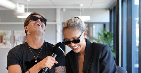 NYTT PAR: Cristian Brennhovd og Caroline Nitter fant kjærligheten på«Ex on the Beach - Afterski».