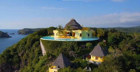 LUKSUS: Ocean Castle Sol De Oriente er søskenhotellet til der skandalereality «Paradise Hotel» spilles inn.