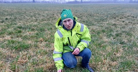VIL FORTSETTE: Anne Grødem vil fortsette som bonde, og takket derfor nei til 150 millioner kroner for at noen skulle kjøpe jorda hennes til et prosjekt.