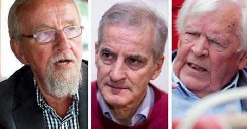 Støre-debatten mellom Yngve Hågensen (tv) og Thorbjørn Berntsen (th) framstår som om 80-tallet har ringt og krevd å få stille sine egne kandidater til stortingsvalget 2021.