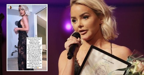 BLIR HJEMME: Sophie Elise Isachsen ønsker ikke å delta på årets Vixen Awards.