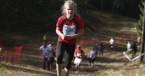 KNALLHARDT LØP: Stine Berntzen deltok på Oslos Bratteste for første gang lørdag. Men selv om det var grusomt hardt ga det mersmak.Alle foto: Arild Jacobsen