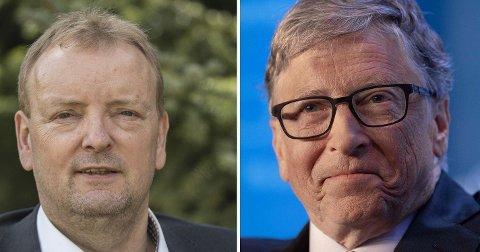 ÉN AV OSS: Energipolitisk talsmann i Frp, Terje Halleland, roser Bill Gates og hans kritikk av klimaaktivisters syn på fossile investeringer.
