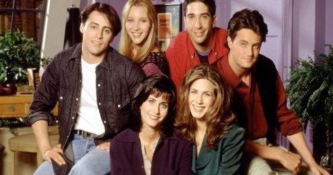 SUPERSUKSESS: Friends er blant verdens mest sette TV-serier.