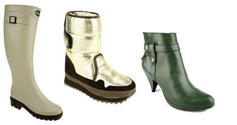 GÅ FOR KVALITET: Stylist Margrethe Gilboe mener kvalitet bør gå før noe annet når det gjelder sko. I vinter er det ankelstøvletter, gummistøvler og snowjoggene som gjelder.