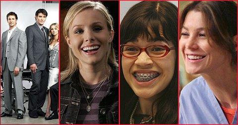 POPULÆRE SERIER: Akutten, Veronica Mars, Ugly Betty og Grey`s Anatomy er noen av seriene vi jenter liker. Velg din favoritt i avstemningen vi har laget under!