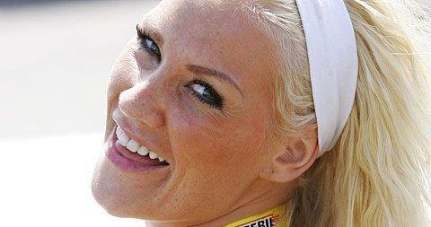 MODELL-FORELSKET: Helene Rask har falt for en modell.