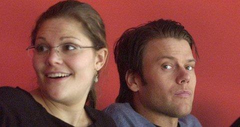 BRYLLUPSRYKTER IGJEN: Victoria tok med seg Daniel i kongelig burdag - et tegn på et nært forestående bryllup mener svenskene.