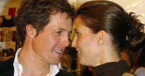 ET PAR? Hugh Grant og prinsesse Rosario er nære venner. Her er de på filmpremieren av «Love Actually» i 2003. De to er observert sammen en rekke ganger den siste tiden.