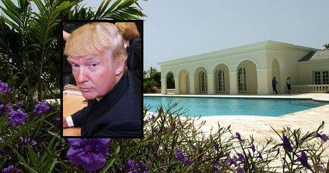 SOLGT: Donald Trump slet i to år med å selge sin kjempevilla i Florida. Så dumpet han litt på prisen...