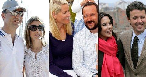 MANGE KONGELIGE: Det spanske kronprinsparet, kronprins Haakon (Mette-Marit blir hjemme) og det danske reiser alle sammen til OL i Beijing. De europeiske kongehusene er godt representert.