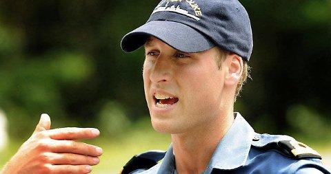 ELITESOLDAT: Prins William skal trene med elitestyrkene som en siste del av sin militære utdanning.