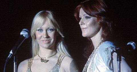 STILIKON: Anni-Frid og Agnethe i ABBA tok diskostilen helt ut og forblir de to av de største stilikonene fra 70-tallet.