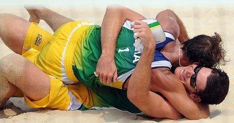 Marcio Araujo og Fabio Luiz Magalhaes, Brasil