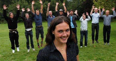 SPORTY: Ragnhild Strømmen ønsket seg friere som var sporty. Det har hun fått.