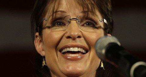 EGET TV-SHOW: Amerikanske TV-eksperter mener Sarah Palin har det som trengs for å lede sitt eget debattprogram.