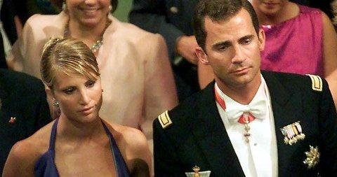 FIRE ÅR: Eva Sannum var sammen med kronprins Felipe i fire år. Det ryktes at bruddet skyldtes press fra det spanske kongehuset - men dronning Sofia var alltid på sin sønns side.
